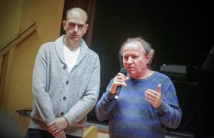 A miniportré alkotói: Horváth Zoltán és Kozma Gábor